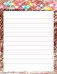 Digital Paper, Scribble Border