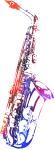 Rainbow Saxophone